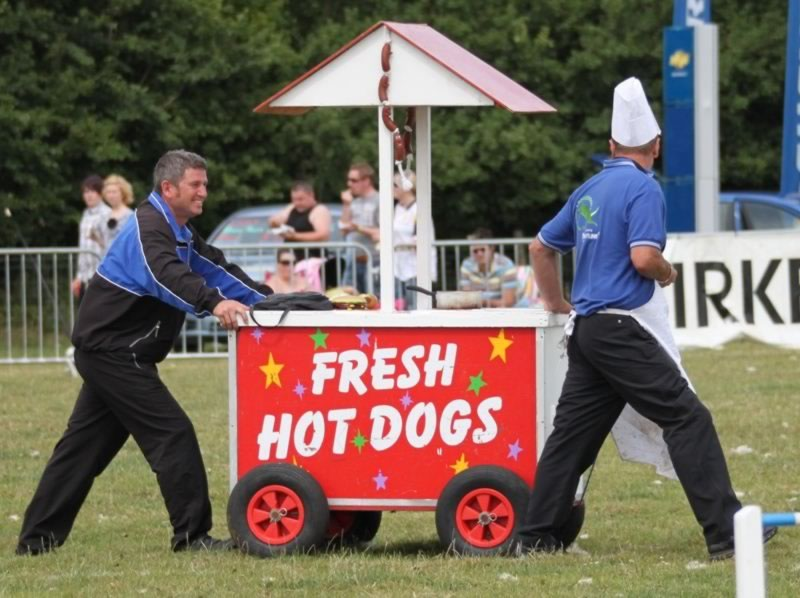 Display Hot Dog