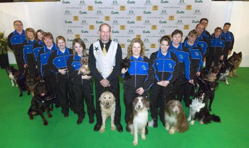 Display Team at Crufts